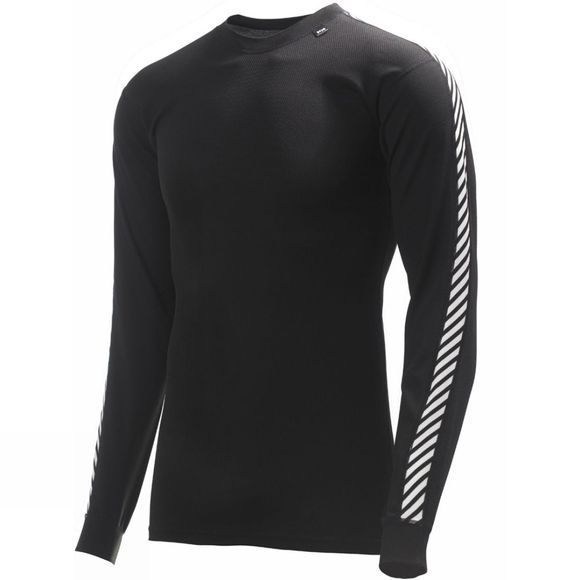 Helly Hansen Mens Stripe Crew Black / White Stripes
