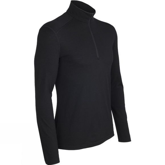 Mens Oasis Long Sleeve Half Zip Top