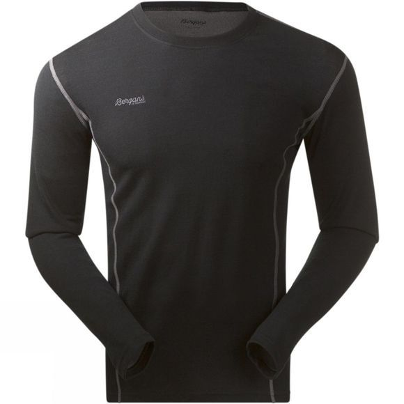 Bergans Mens Akeleie Shirt LS Black