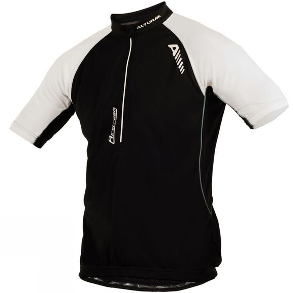 Altura Mens Airstream Short Sleeved Jersey  Black