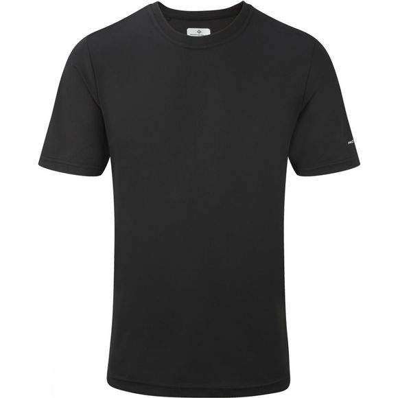 Ronhill Mens Pursuit Plain Tee Black