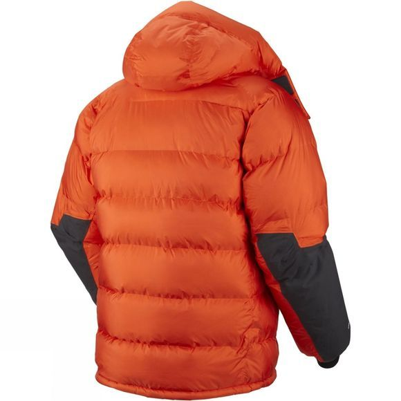 Mountain Hardwear Men's Absolute Zero Parka State Orange / Black