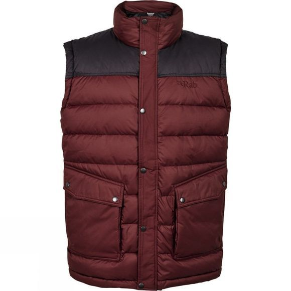 Rab Mens Sanctuary Vest Root Beer