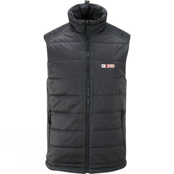Exoglo Mens Heated Bodywarmer Black