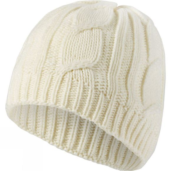 SealSkinz Waterproof Cable Knit Beanie Cream
