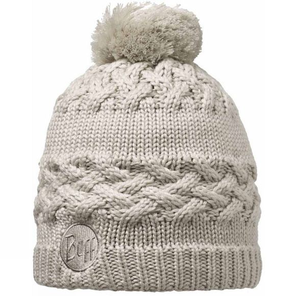Buff Knitted & Polar Hat Savva Cream