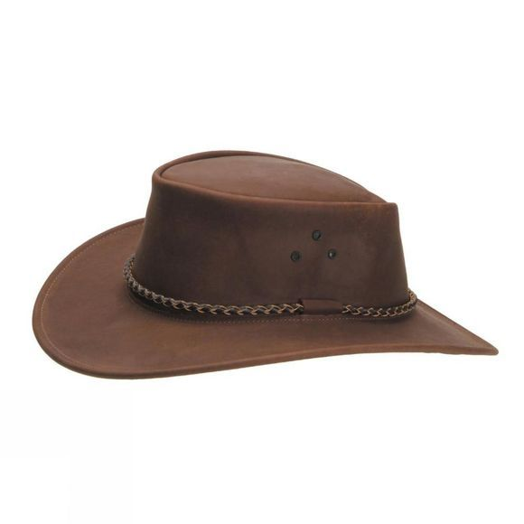 White Rock W Rock Bush Hat                  Brown