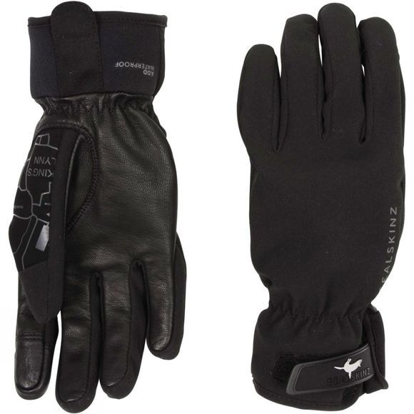 SealSkinz Mens All Season Glove Black/Charcoal