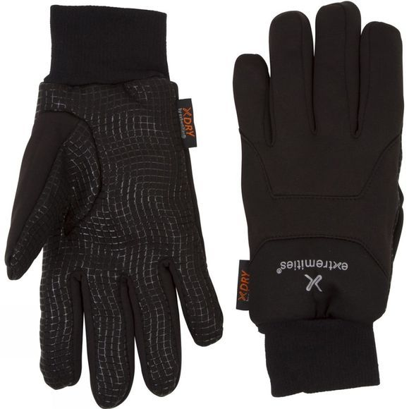 Extremities Insulated Waterproof Sticky Power Liner Glove Black