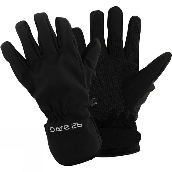 Dare 2 b Mens Softshell Glove II Black