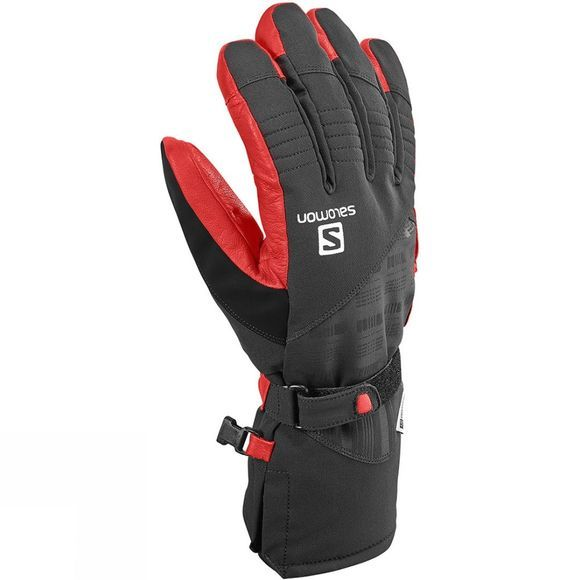 Salomon Mens Propeller Dry Glove Black/Matador-X