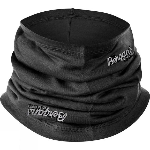 Bergans Fjellrapp Neck Warmer Black