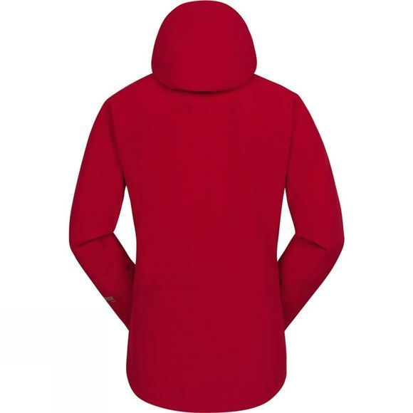 Mountain Equipment Womens Shivling Jacket Imperial Red/Iris Zips