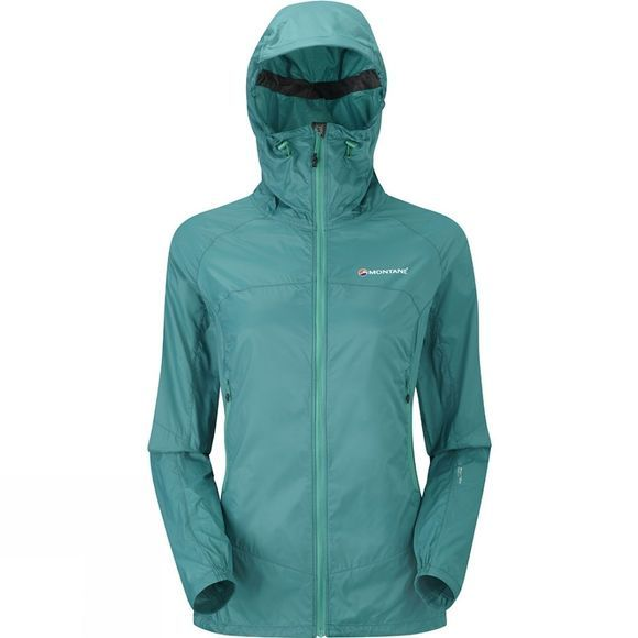 Montane Womens Lite-Speed Jacket Siberian Green