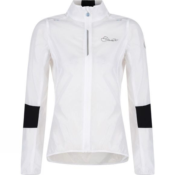 Dare 2 b Womens AEP on the Rivet Jacket White
