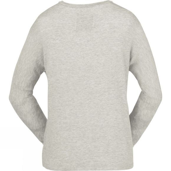 United By Blue Womens 3/4 Sleeve Dolman Top Grey