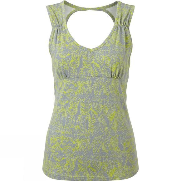 Royal Robbins Womens Essential Henna Tank Lime Zest