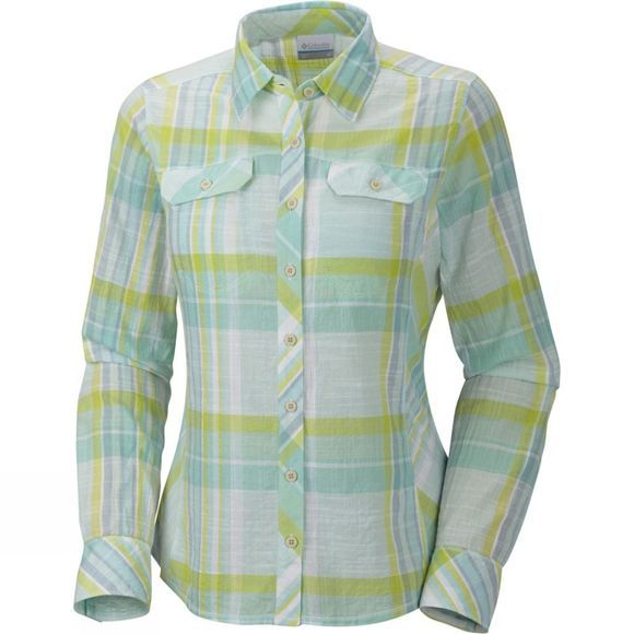 Columbia Womens Camp Henry Long Sleeve Shirt Tippet Plaid