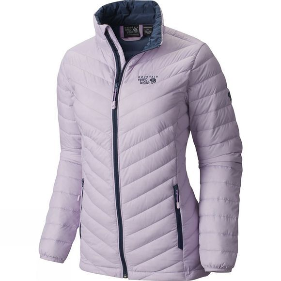 Mountain Hardwear Womens Micro Ratio Down Jacket Phantom Purple / Zinc
