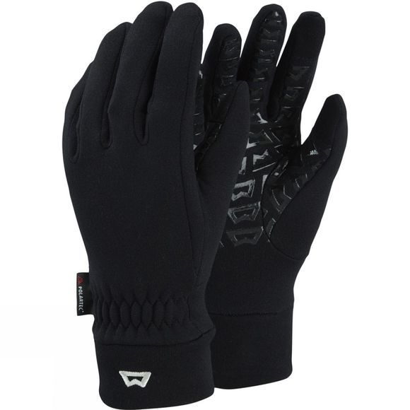 Mountain Equipment Womens Touch Screen Grip Glove Black