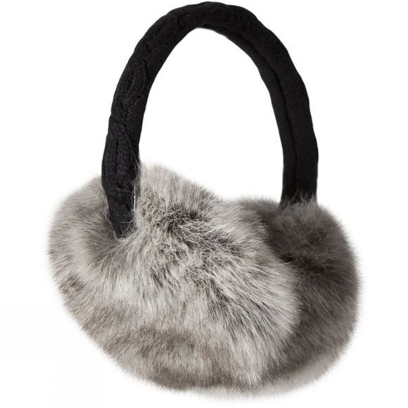Barts Faux Fur Earmuffs Heather Brown