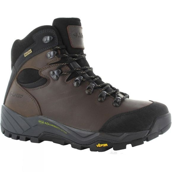 Hi-Tec Mens Altitude Pro RGS WP Boot Dark Chocolate