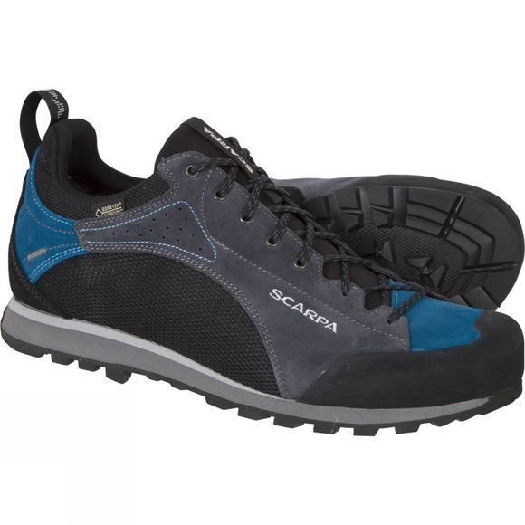 Scarpa Mens Oxygen GTX Shoe Black/Iron Grey