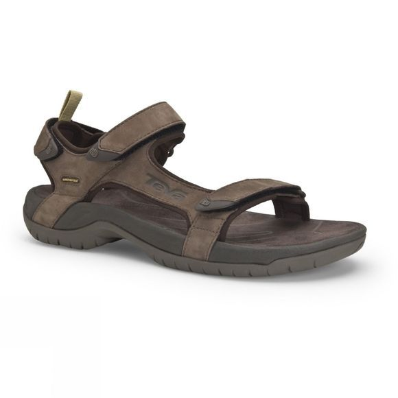 Teva Mens Tanza Leather Sandal Brown