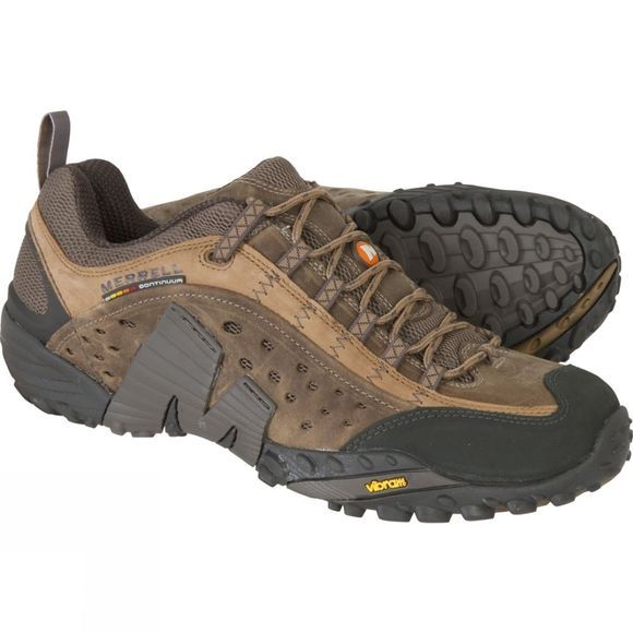 Merrell Mens Intercept Shoe Moth Brown