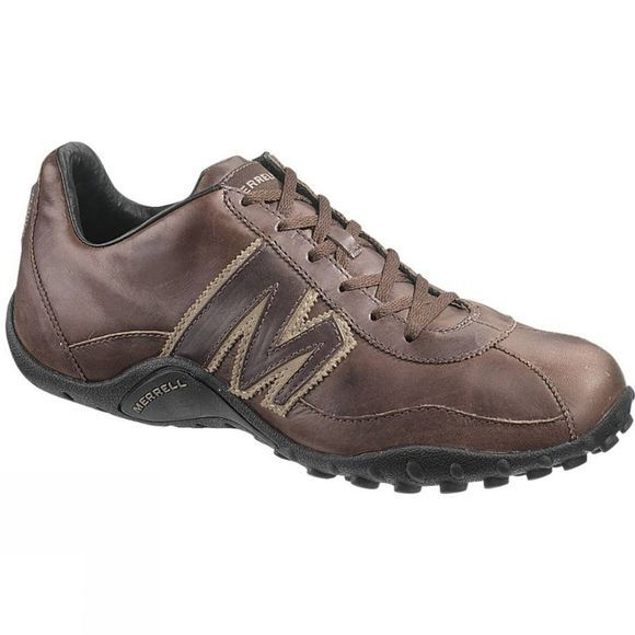 Merrell Mens Sprint Blast Leather Shoe Espresso/Brindle