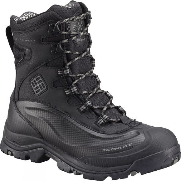 Columbia Men's Bugaboot Plus III Omni-Heat Boot Black / Charcoal