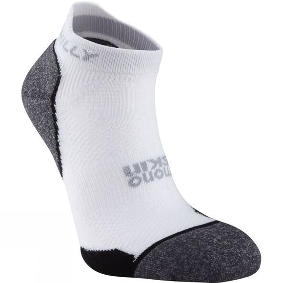 Hilly Supreme Socklet White / Charcoal / Black