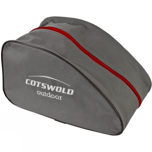 Cotswold Outdoor Boot Bag Grey/Red