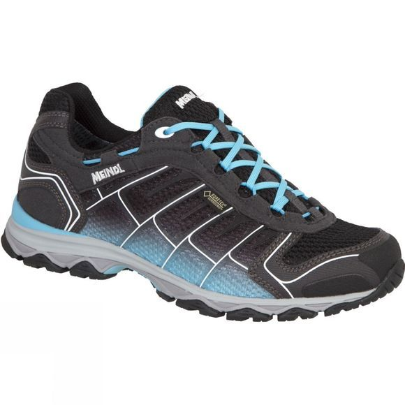Meindl Womens X-SO 30 GTX Shoe Black/Turquoise