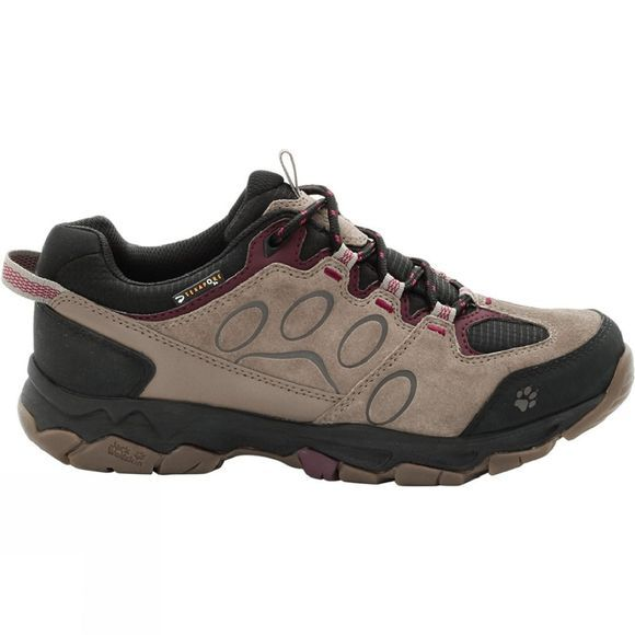 Jack Wolfskin Womens Mountain Attack 5 Texapore Low Shoe Wild Berry