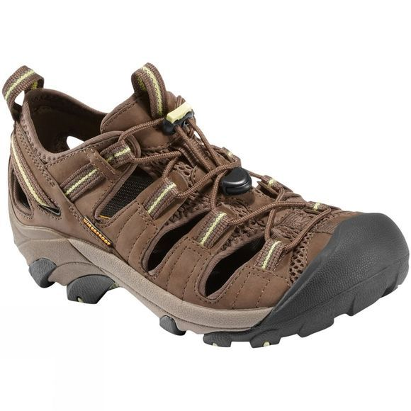 Keen Womens Arroyo II Shoe Choclate Chip/Sap Green