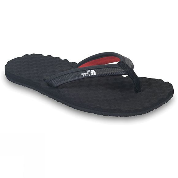 The North Face Womens Base Camp Mini Flip Flop TNF Black/TNF Red