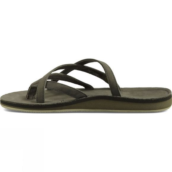 Womens Olowahu Leather Flip Flop