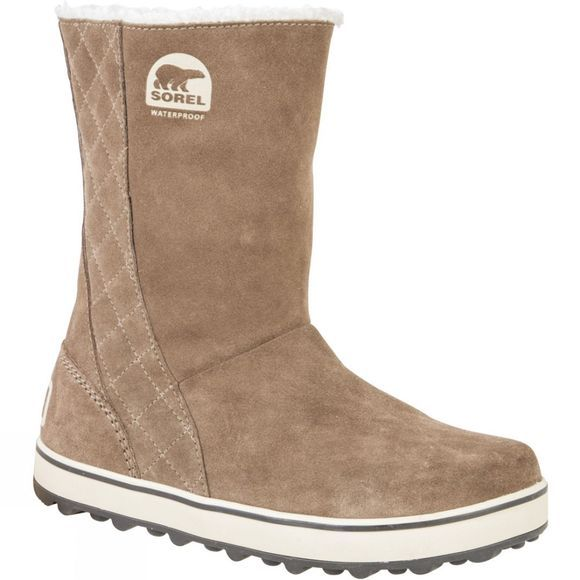 Sorel Womens Glacy Boot Saddle/Fossil