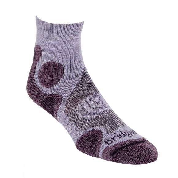 Bridgedale Womens Coolfusion Trail Diva Sock Heather/Damson