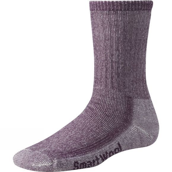 SmartWool Womens Hike Medium Crew Socks Dark Cassis