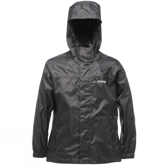 Regatta Kids Pack-It Jacket Black