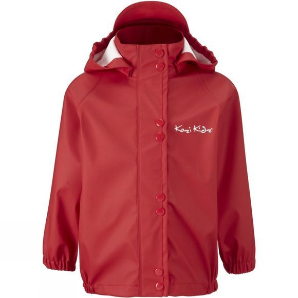 Kozi Kidz Kids Unlined Essential Rain Set Sports Red