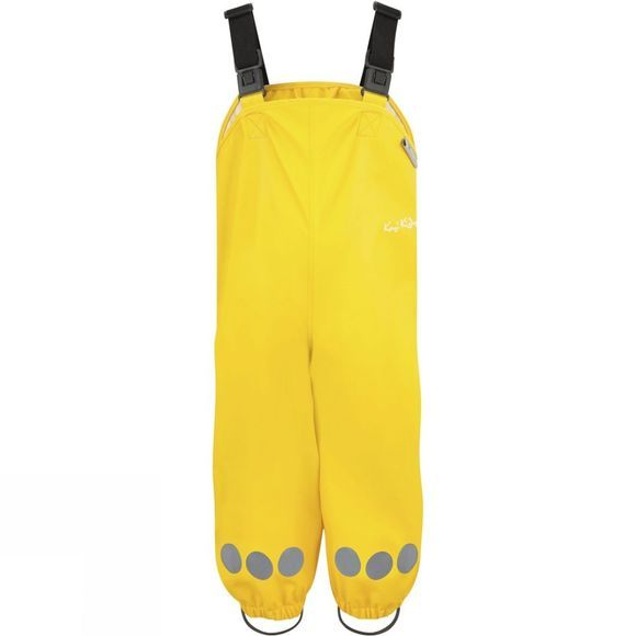 Kozi Kidz Kids Essential Rain Set Unlined Fisherman Yellow