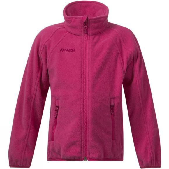 Bergans Kids Bolga Jacket Hot Pink
