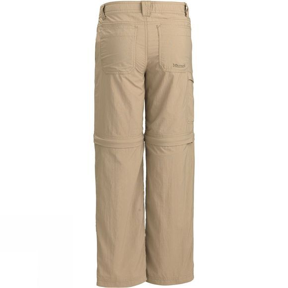 Marmot Boys Cruz Convertible Pants Desert Khaki
