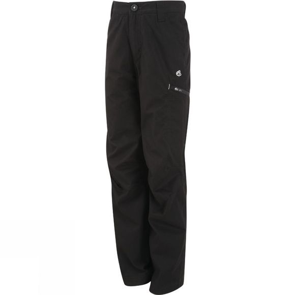 Craghoppers Kids Winter Lined Kiwi Trousers Black