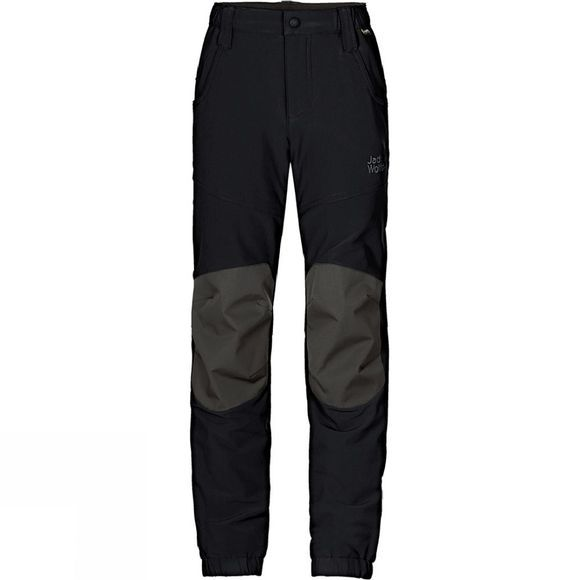 Jack Wolfskin Kids Rascal Winter Pants Age 14+ Black