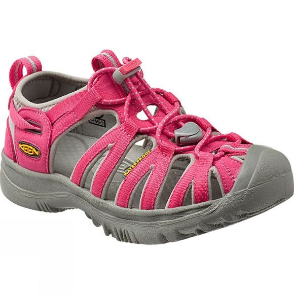 Keen Girls Whisper Sandal Honeysuckle/Neutral Grey
