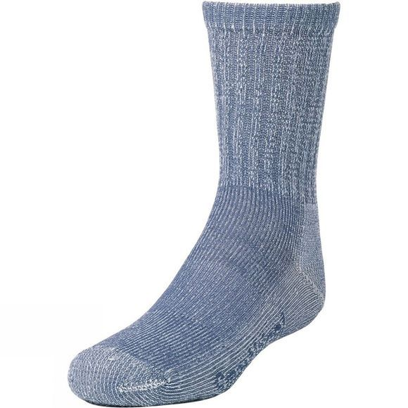 SmartWool Childrens Hike Light Crew Sock Denim